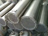 二手列管冷凝器,转让不锈钢换热器,列管换热器