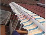 供应曲臂雨棚可定做强玉伟业供应专用别墅曲臂遮阳篷
