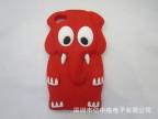 厂家批发可爱卡通iphone4s手机壳大象系列硅胶套iphone5保护套