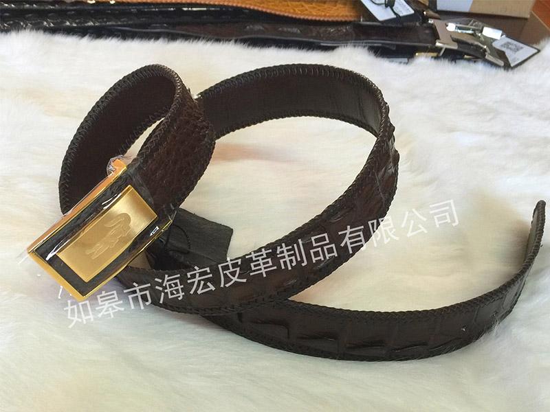 南通合格的鳄鱼皮腰带供应,鳄鱼皮带厂家