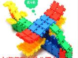 儿童塑料积木拼插拼装益智玩具 小嘟嘟塑料拼插玩具 幼儿园**