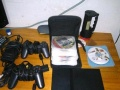 PS2游戏机8.5成新。两个手柄,送50张游戏光碟