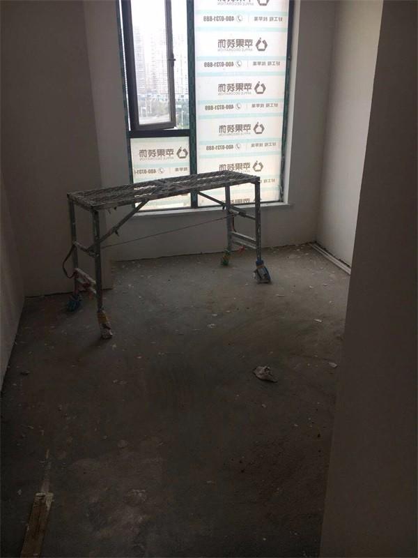 (湘潭苹果装饰)四房130 现代风格油漆阶段
