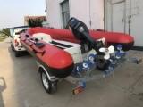 4.6米铝镁合金钓鱼船工作艇登陆艇