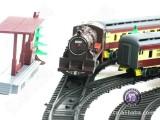 热销210电动玩具|内燃机火车电动轨道玩具 奋发正品3C认证2.