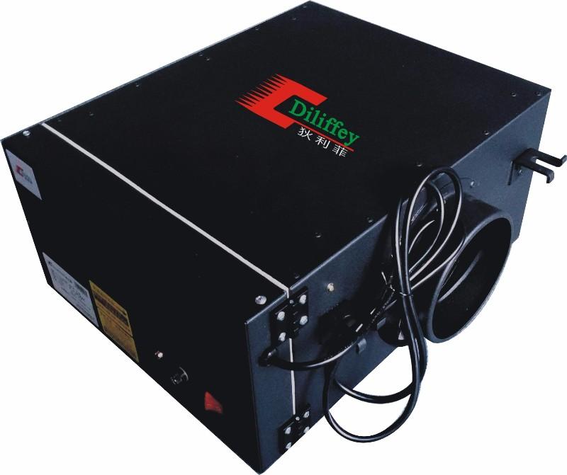 生产电子新风净化箱 新风PM2.5净化机,别墅新风净化机