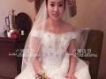 襄阳卢娜造型 新娘跟妆宴会妆团体妆主持人妆