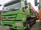 出售二手豪沃后八轮自卸车5.8米大箱原版车手续全可以过户3年10万公里面议