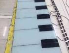 南京活动暖场脚踩发光弹奏地板钢琴出租人气游乐设备租赁