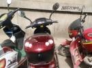 绿驹电动车红色1200元