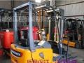 仓储搬运叉车电动堆高叉车 二手升高4米2吨电瓶叉车