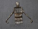 欧洲站2014冬新款高领套头拼色烫金弹性显瘦加大毛衣打底衫针织衫