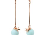 BingaBinga饰品厂家 韩版时尚珍珠长款925纯银耳环