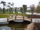成都吉顺源园林景观工程设计-防腐木凉亭长廊-木栈道修建
