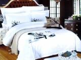 君友酒店用品提供纯色100%纯棉床上用品