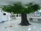 人造大型仿真榕树订制各种仿真树工程施工安装装饰树玻璃钢古榕树