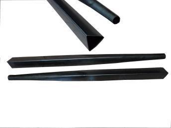 广东东莞奶油半自动三角形锥度机,圆管变三角管,欢迎致电立德机