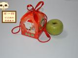 2014年圣诞平安果包装盒子,圣诞苹果盒,圣诞礼盒,商场苹果盒,