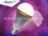 高档超亮5W LED微波雷达光感球泡灯  工厂直销