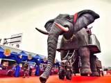 巨型機械大象租賃 巡游宣傳利器