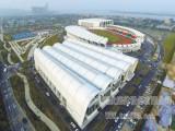 同欣橡胶跑道佛山高明体育中心案例预制型跑道厂家直销