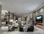 南岸区保利观塘洋房装修 北欧风格设计方案图 天古设计师谭庆波