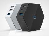 闪迪家居 智能设备多口USB充电器 轻无魔盒路由器 境外旅行必备
