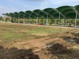 南陽科技職業技術學院高爾夫連球場索拉膜結構