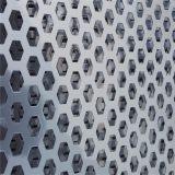 安平铝板冲孔网六角孔装饰冲孔网