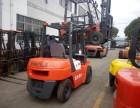 转让杭州电动叉车 合力3吨电瓶叉车 二手夹抱叉车