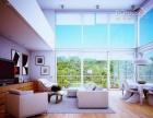 专业擦玻璃打扫家订做隐形纱窗换门窗封条清洗油烟机电工