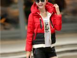 2014羽绒服女棉衣冬装新款军工款外套韩版连帽加厚短款