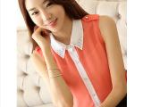 2014夏装新款韩版宽松大码衬衫女