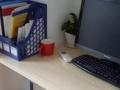 100平精装写字楼出租带办公家具一起!2+1户型