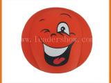 【LEADERSHOW】可爱笑脸抱枕 泡沫粒子表情靠垫 氨纶靠腰