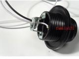 灯头 黑色电木灯头 灯座 E27灯头 吊灯螺口灯头 节能灯头