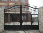 天津市安装铁艺大门 阳台护栏 庭院围栏