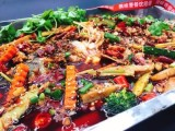 广州烤鱼培训哪个好,纸包鱼培训免费开店指导