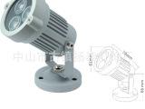 厂家直销首款工程首选产品 LED投射灯 城市亮化3W水底灯投射灯