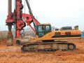 桂林市河池市中联旋挖桩机基础公司专业低价格承接桩基础施工工程