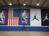 700余平室内篮球馆 羽毛球馆 公司包场 团建活动