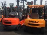 芜湖无为二手叉车市场 二手柴油电动叉车800多台可选外地包邮