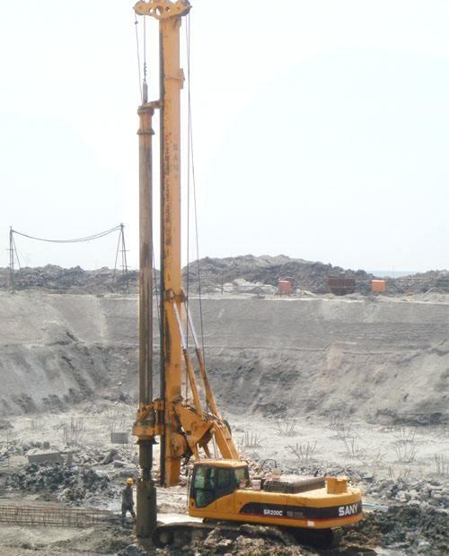 北海市玉林市中联重科旋挖桩机公司低价格承接旋挖桩机旋挖桩业务