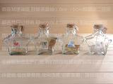 台典工艺品  玻璃容器 广口超大五角瓶 厂家直销 许愿幸运瓶