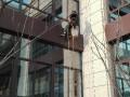 洛阳外墙清洗 高空安装 玻璃幕墙广告牌清洗