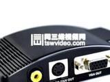 PC转TV电脑转电视VGA转AV/S端子