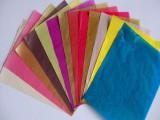 彩色棉紙批發 啞光棉紙印刷 染色薄頁紙廠家