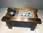 老船木茶桌椅组合 实木茶桌家具中式功夫茶几