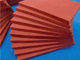 发泡硅胶板 布纹硅胶发泡板海绵硅胶板