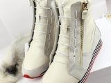 2013欧洲站潮人秋冬款Y3厚底运动鞋松糕高帮女鞋休闲女鞋女鞋子